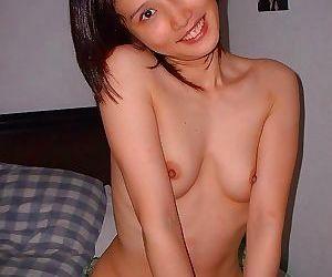 Naughty naked oriental bitch posing for her boyfriend -..