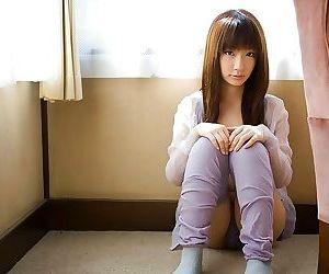 Pretty asian model hina kurumi shows ass and pussy - part..