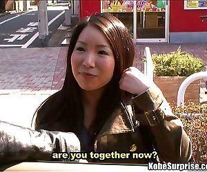 The asian bang bus takes advantage of a cute japanese girl..
