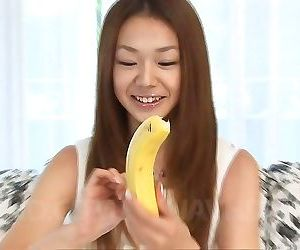 Serina hayakawa asian learns on fruits how to suck cock..