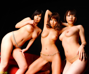 Three japanese babes craving hard cock - part 3182