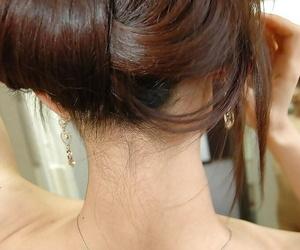 Asian teen Ayane Fukumori exposes her petite curves while..