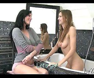 Naked hot lesbo babes