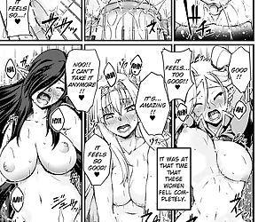 Kuroinu ~Kedakaki Seijo wa Hakudaku ni Somaru~ THE COMIC -..