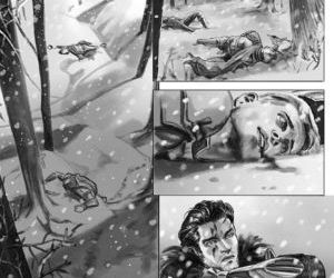 Lost In The Snow - part 8