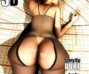 Mrs. Hani 3D Vol.9- Duke hardcore Honey