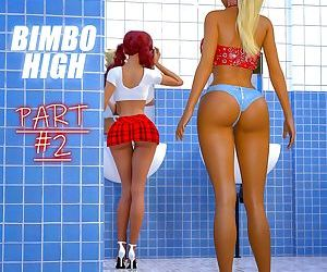 Ella's Transformation- Bimbo High Part 2