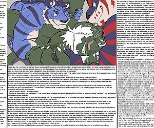 Gay Furry picturies with stories - part 17