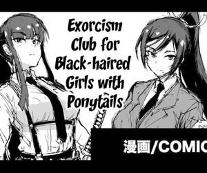 Kurokami Ponytail Tsurime JK Taimabu Rakugaki - Exorcism..