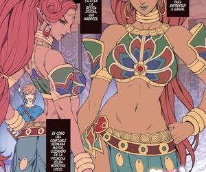 Oda non Rakugaki Ero Manga- Breath of the Wild no..