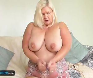 EuropeMature old blonde Lacey solo