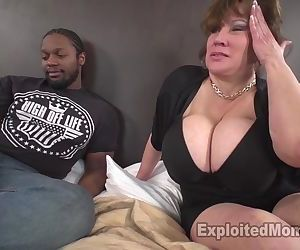 Sexy Mom with Huge Tits Takes BBC