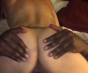 Sexy White Wife Squirts All Over BBC