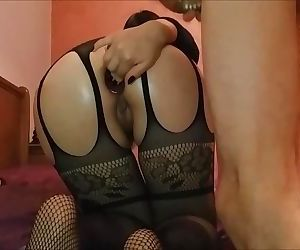 Rimming my mans before he fucks me like a slut in the ass