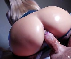 MILF Hot Riding on Hard Cock, 4K - Alena LamLam