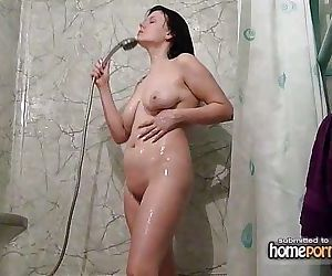 Sucking and fucking in shower