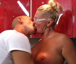 Mature mother takes young boys cock