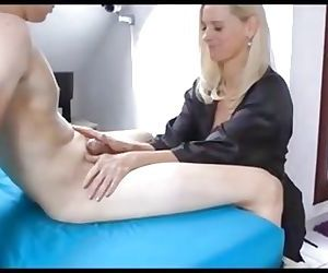 German Milf Tina Age 43 With 18 Yr. Old Boy