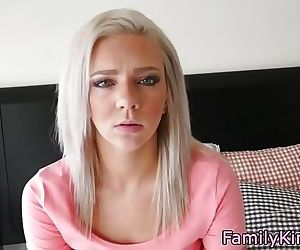 Gorgeous stepsis creampied after doggystyle