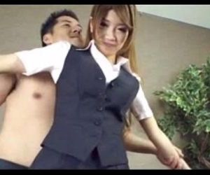 Asian Office Secretary - 8 min
