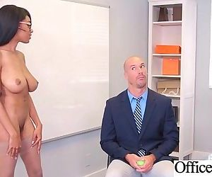 Sex Scene In Office With Slut Hot Busty Girl video-05