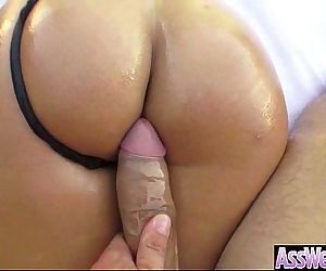 Sexy Big Round Ass Girl Bang Hard In Her Behind mov-16