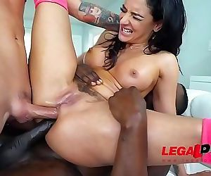 MUST SEESheena Ryder takes on her 1st DAP EVER!!! 1 min 5 sec HD
