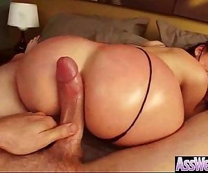 Anal Sex Tape With Big Wet Oiled Round Ass Girl clip-19
