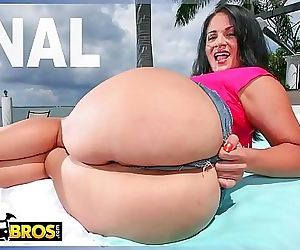 BANGBROSCurvy Latina Babe Miss Raquel Enjoying Anal Sex On A Sunny Day In Miami 12 min HD