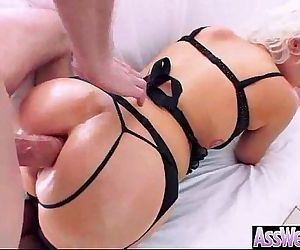 Naughty Girl With Big Wet Butt Love Hardcore Anal Sex movie-11