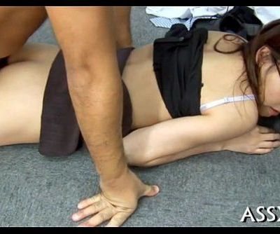 Japanese anal toying and fucking - 5 min