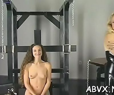 Tight pussy extreme bondage in home xxx clip 5 min