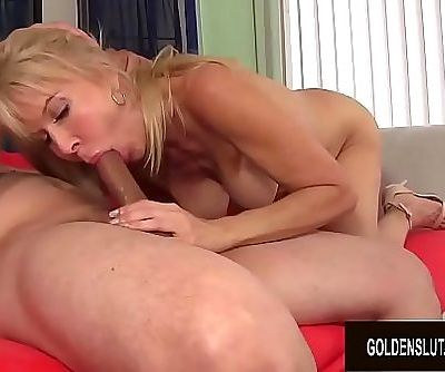 Slutty Granny Erica Lauren Gets Her Mature Pussy Eaten and Fucked 8 min HD