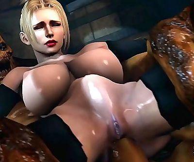 rachel fucks monster cock 10 min