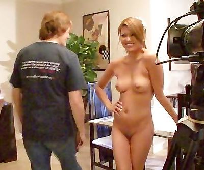 Charmane Star looking hot behind the camera