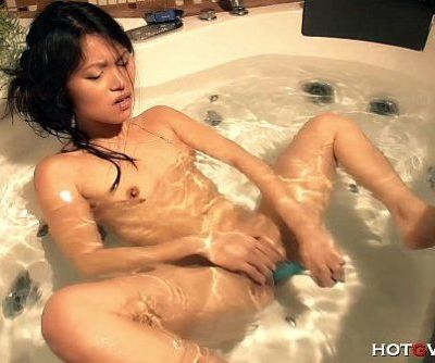 Tiny Asian Has Big Wet Orgasm - 8 min HD
