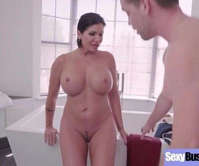 Big Melon Tits Housewife Enjoy Hard Sex On Camera clip-25