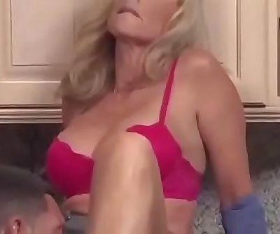 Swedish Horny son forced with his mother in kitchen ! 7 min
