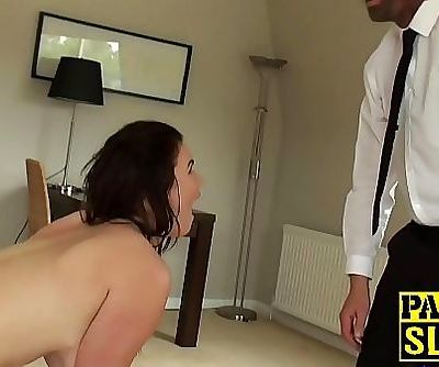 Beautiful sub pussy destroyed while getting spanked 10 min 1080p