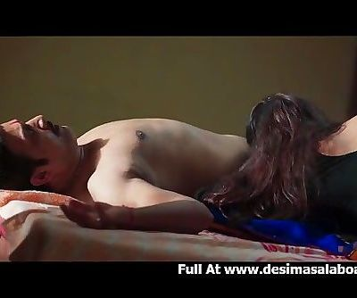 Beauty Indian Wife Sex with Officer