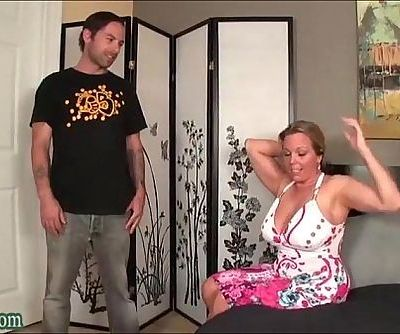 Boy Fucking not his Mom Huge Tits Milf