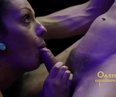 Oasis Aqualounge Money Shot Hot Yoga Sex 24 min HD