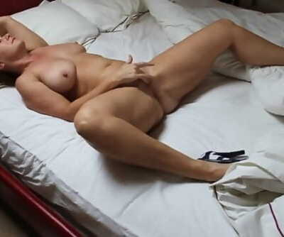 Wife pleasuring herself
