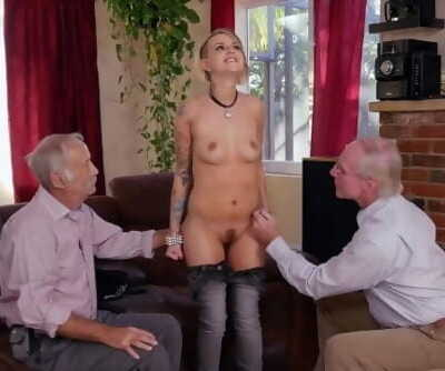 BLUE PILL MEN - Young Presley Carter Fucks Old Men For Concert Tickets