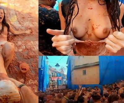 Bucket List: Fucking at La Tomatina weekend in Spain