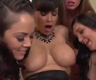 Classroom Lesbian Orgy