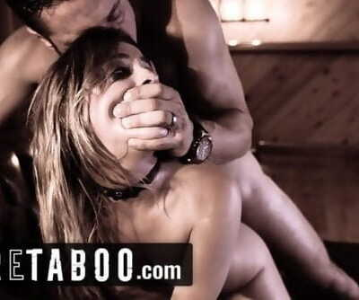 PURE TABOO Kristen Scott Emo Teen Blackmails Teacher into Rough Sex