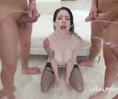 piss girls 2 - ANNA DeVILLE CHOKES ON PISS