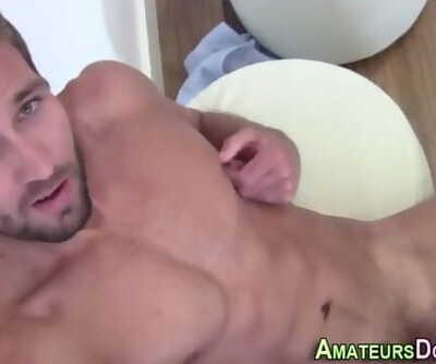Preppy Amateur Blows Load
