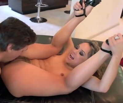 Curly Haired Kristina Rose goes for Anal